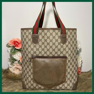 Authentic Gucci Sherry Line Tote Bag